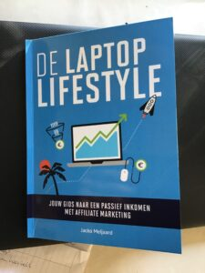 Interessante online cursus, laptop lifestyle affiliate marketing, laptop lifestyle boek