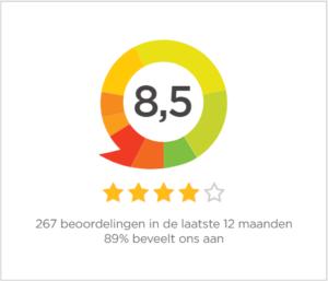 interessante online cursus, online oefenen theorie examen, review klanten sterren