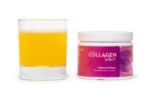 Interessante online cursus, collageen in voeding, Collagen Select in een glas professioneel