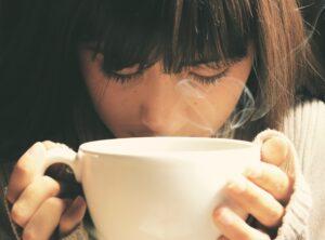 de overgang en reukvermogen, koffie geur
