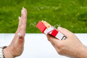 De overgang en stoppen met roken, je kunt nu nee zeggen tegen een sigaret