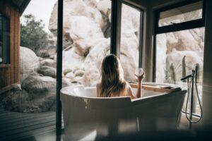 lichaamsgeur bij overgang, niet te vaak in bad