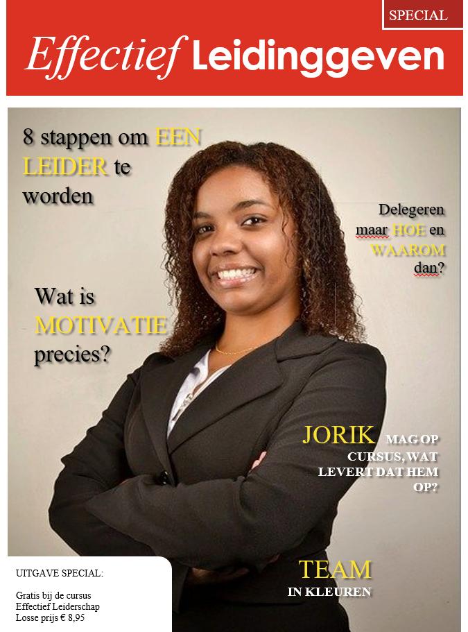 Cover Magazine Effectief Leidinggeven