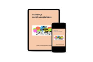 Versterk je sociale vaardigheden, leesbaar op tablet