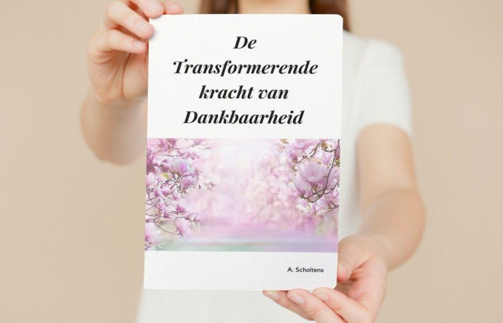 De verbazingwekkende kracht van Dankbaarheid, cover e-book